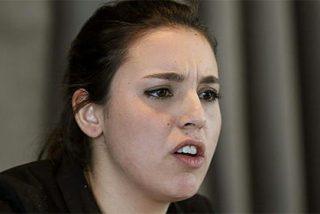 Irene Montero, la novia de Pablo Iglesias, encantada con el enaltecimiento del terrorismo que hacía el rapero Hasel