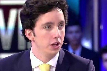 """El 'pequeño Nicolás': """"No le doy una hostia a Carlos Lozano porque estamos en directo"""""""