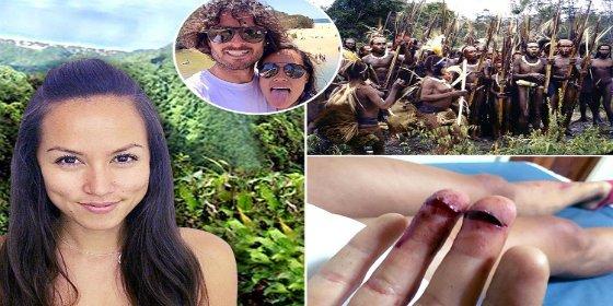 La tribu caníbal que secuestra a una pareja de turistas en Papúa Nueva Guinea