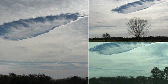 Unas extrañas nubes con agujeros son detectadas por la NASA