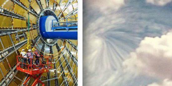 El vídeo del OVNI que entra en un portal interdimensional sobre el CERN