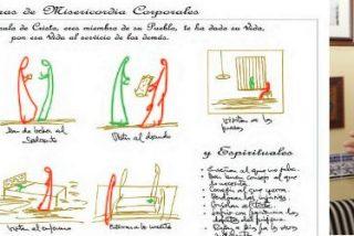 Los dibujos de Osoro para el Año de la Misericordia