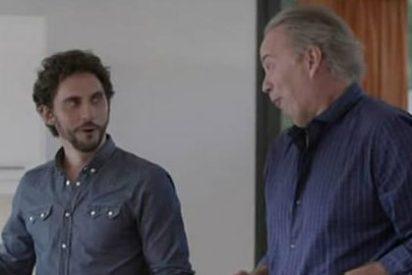 'En la tuya o en la mía': Bertín Osborne no da la talla ante un 'bisexual' Paco León
