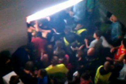 El vídeo inédito del horror que se vivió en la mortal avalancha del Madrid Arena