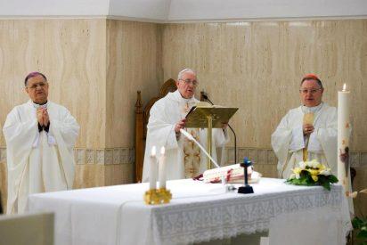 """Francisco, en Santa Marta: """"Nunca hay que usar a Dios para vencer una causa propia"""""""