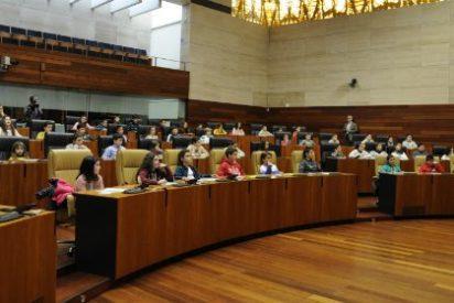 Pleno infantil en la Asamblea de Extremadura