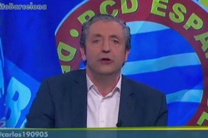 """Encendido discurso de Pedrerol contra el 'nacional-barcelonismo': """"La campaña de la prensa de Barcelona contra el Espanyol es lamentable"""""""