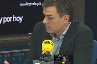 Pedro Sánchez tranquiliza a Pepa Bueno en la SER con su rechazo a pactar con Rajoy