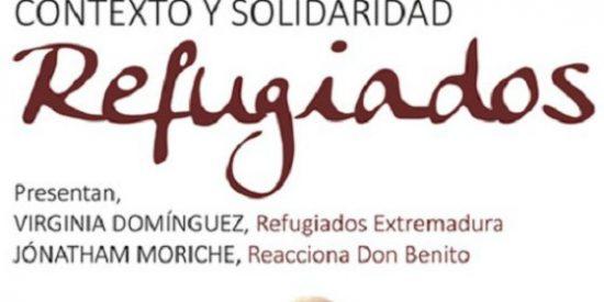 """Santa Amalia (Badajoz), acoge el acto """"Refugiados: contexto y solidaridad"""""""
