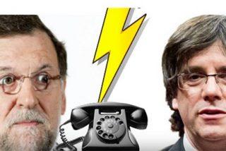 Rajoy demuestra cintura en la broma de radio que le cuela un imitador de Carles Puigdemont