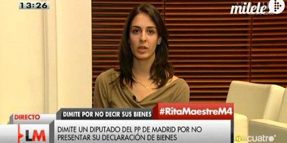 La 'asalta capillas' podemita que será juzgada, Rita Maestre, debería dimitir como dice el código ético de Ahora en Común