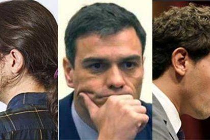 El gozo de Pedro Sánchez en un pozo: su pacto progresista hace aguas por la izquierda