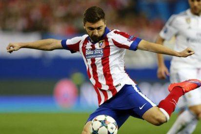 Su agente trata de sacarle del Atlético de Madrid