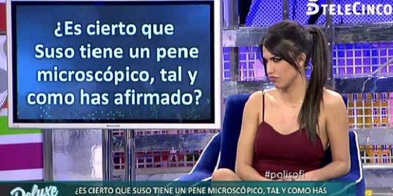 """Sofía Suescun ('GH16'): """"Suso llega muy rápido al orgasmo"""""""