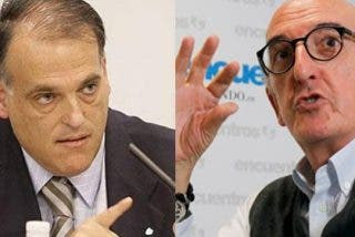 """Juanma Castaño: """"La TV solo manda cuando está Roures, que es el amigo de Javier Tebas"""""""