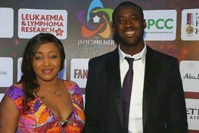 Gran polémica en Twitter por el sobrepeso de la mujer de Touré Yaya