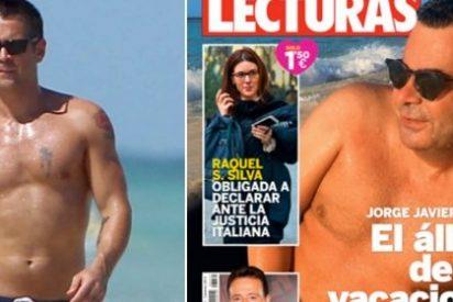 Jorge Javier Vázquez, en la playa con Colin Farrell y enfadado con la crítica de televisión