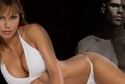 La mujer de Víctor Valdés se desnuda en Madrid
