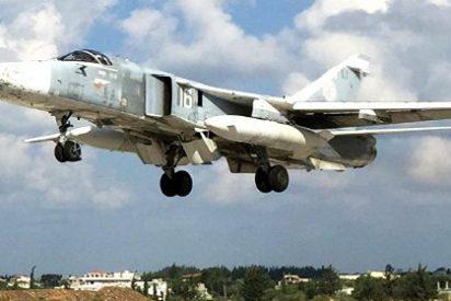 [VÍDEO] Así bombardea el mortífero avión ruso Su-24 en territorio sirio