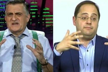 """En 'El Intermedio' se chotean de la oratoria del socialista César Luena: """"¡Que la línea roja ante Podemos sea que él asuma la portavocía!"""""""