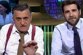"""La doble vara de medir de Gonzo en El Intermedio: complicidad y bromas con ERC, PSOE y Podemos y """"cunetas"""" para Rafael Hernando (PP)"""