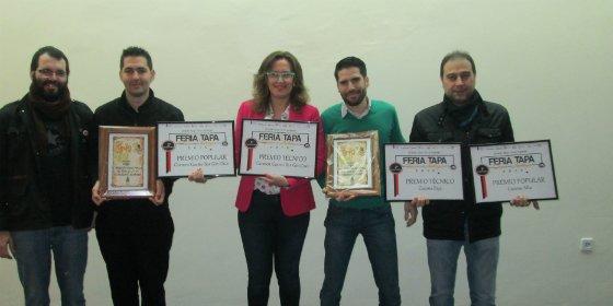 Entregados los premios de la XIII Feria de la Tapa del Casco Antiguo de Badajoz