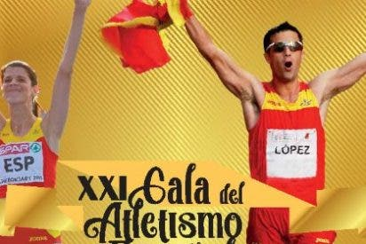 La Real Federación Española de Atletismo premia la labor de la Diputación de Cáceres