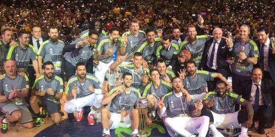 Tercera Copa del Rey de Baloncesto seguida para un Real Madrid de leyenda