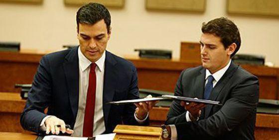 Albert Rivera cambia de estrategia y apoyará la investidura de Pedro Sánchez como presidente
