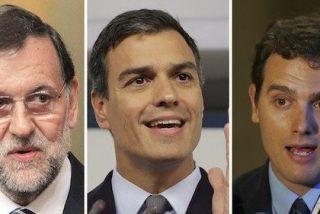 """Mariano Rajoy: """"Me sorprende el entusiasmo de Rivera (C'c) por apuntalar a Sánchez (PSOE)"""""""