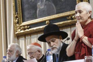 Judíos, musulmanes, budistas y cristianos rezan juntos por la paz en Valencia