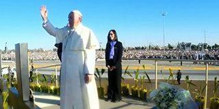 """Francisco concluye su viaje a México orando en la """"Lampedusa de América"""""""