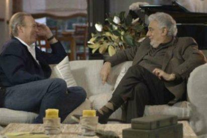 Significado de aburrimiento: La entrevista de Bertín Osborne a Plácido Domingo