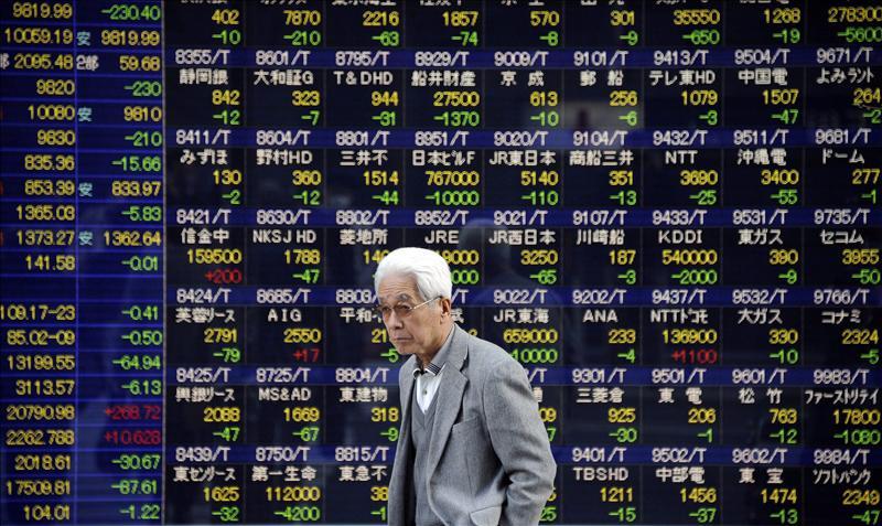 La Bolsa de Tokio sube más de un 7% al cierre en su mejor sesión desde 2008
