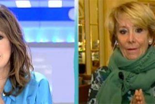 Esperanza Aguirre más 'maverick' que nunca: deja caer el nombre de Felipe González para el gobierno