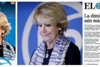 Dimisión de Aguirre: 'La vecina de la primera planta' deja Génova calcinada por corrupción