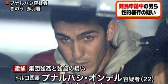 Los dos turcos que violan a una borracha en un váter público de Tokio