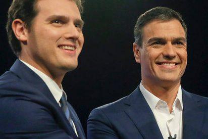 PSOE y C's se comprometen con la estabilidad pero no harán recortes de gasto social