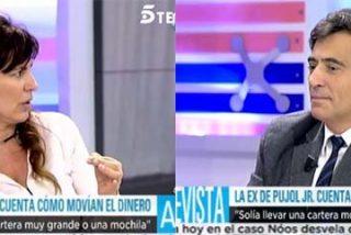 """La ex de Jordi Pujol hijo se revuelve contra Arcadi Espada: """"¡Eres un misógino tremendo!"""""""