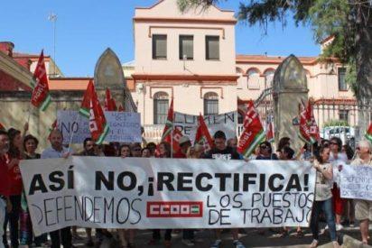 Ante los despidos en el Asilo de Linares