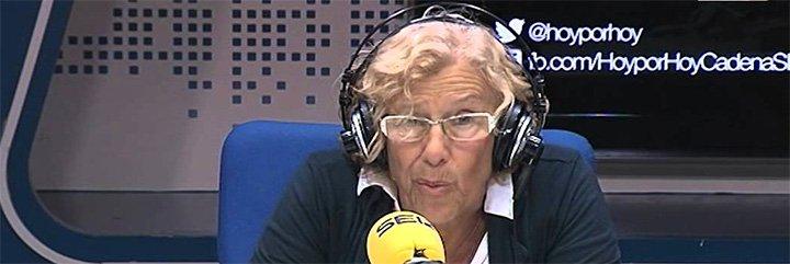 Carmena se escuda en motivos humanitarios para no echar a la 'okupa' Celia Mayer