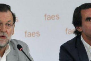 Aznar aprovecha la debilidad de Rajoy para atacarle desde la FAES