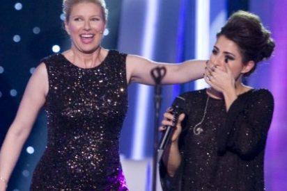 Un 9,1% y 1.669.000 espectadores siguen la elección de Barei para Eurovisión en La 1