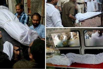 Le corta el cuello a 14 personas de su familia en India y se suicida