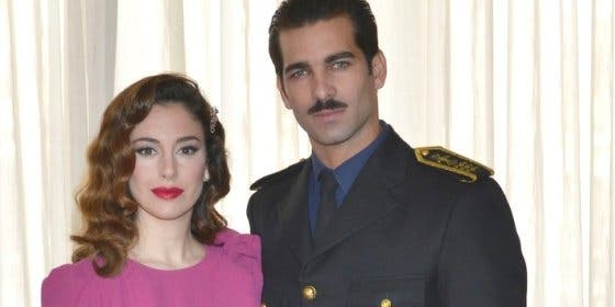 Blanca Suárez y Rubén Cortada terminan el rodaje de 'Lo que escondían sus ojos'