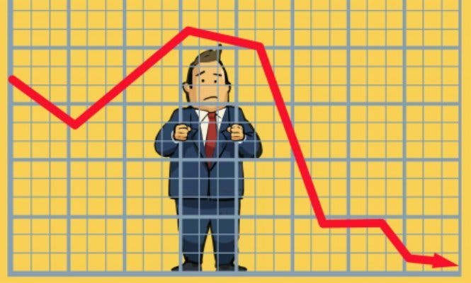 La banca arrastra al Ibex 35 a negativo (-0,83%) y le lleva a perder los 8.300 puntos