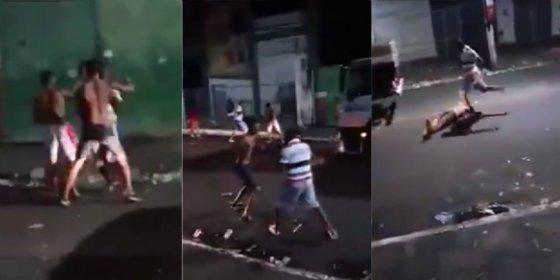 El asesinato a patadas de un joven traficante de 19 años en la calle
