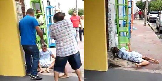 [VÍDEO] El vecino sorprende a un ratero en su casa y lo mata en la calle
