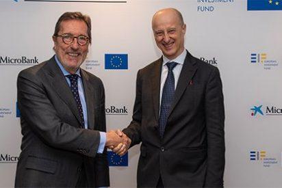 MicroBank y el Fondo Europeo de Inversiones (FEI) acuerdan un plan de inversión de 50 millones de euros para empresas sociales