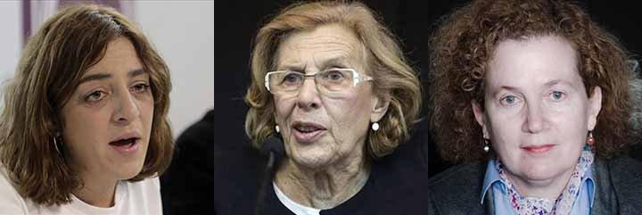 Los siete pecados capitales de la 'abuelita' Manuela Carmena